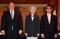 Chefs des diplomaties Corée-USA-Japon