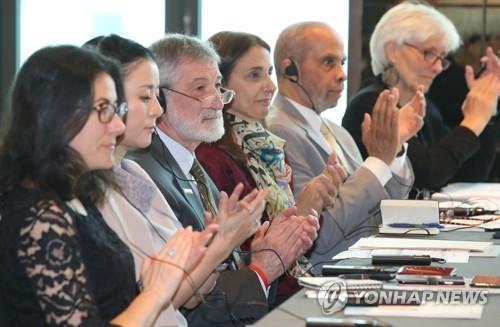 남북관계 진전에 주목하는 노벨평화상 수상 단체 대표들