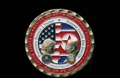 Moneda conmemorativa de la cumbre Kim-Trump