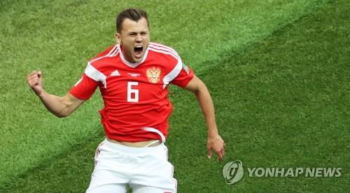 [월드컵] 추가 골 넣는 러시아