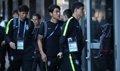 韩国队抵达世界杯宿舍