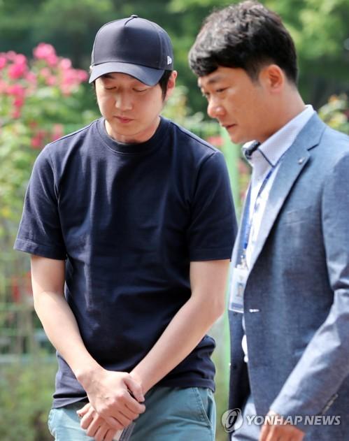 '심석희 폭행' 고개 숙인 조재범 전 코치