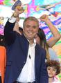 콜롬비아 대선 41세 우파 후보 승리…평화협정 앞날에 '먹구름'(종합)