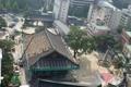 Cambiando el tejado del templo Jogyesa
