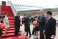 Kim Jong-un llega a Pekín