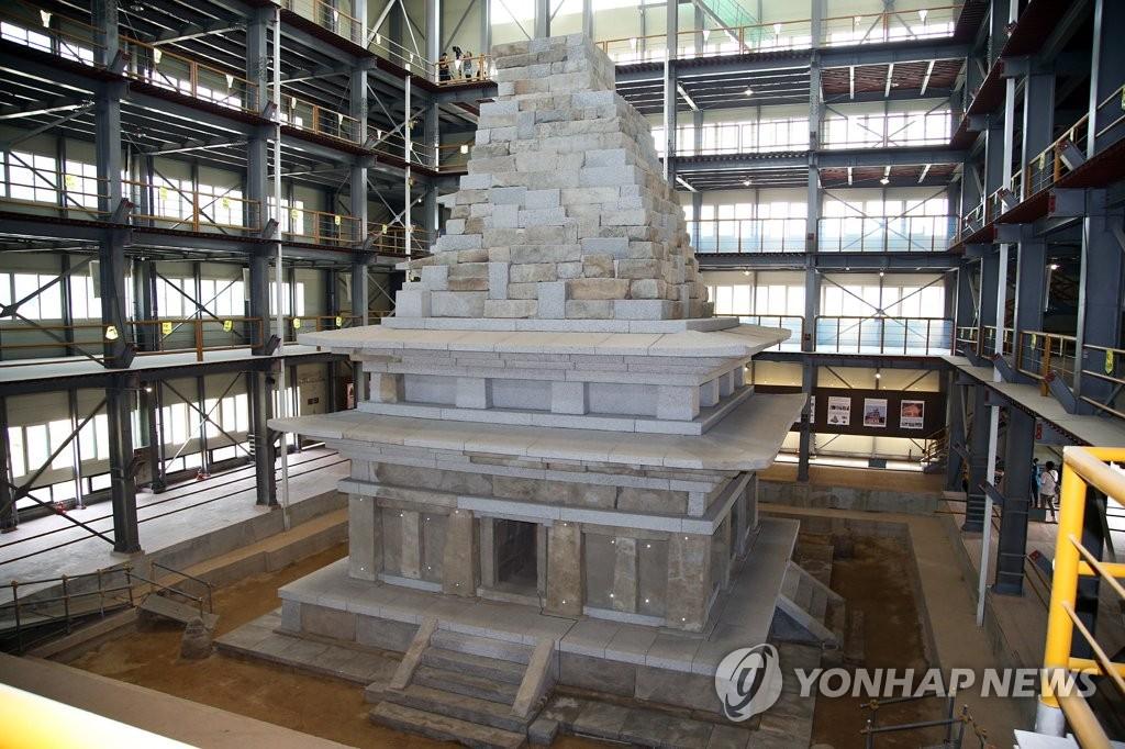 익산 미륵사지 석탑, 20년 수리 후 공개