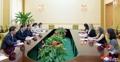 La directora adjunta de Unicef en Pyongyang