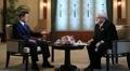 Moon Jae-in realiza una entrevista para la prensa rusa