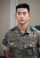 Ok Taec-yeon with the Army