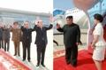 Despidiendo a Kim Jong-un