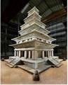 Renovación de la pagoda de piedra más antigua