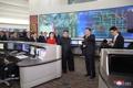 Au centre de contrôle du trafic de Pékin