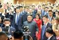 Kim à l'ambassade de Corée du Nord en Chine