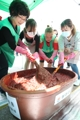 Making red pepper paste