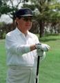 ゴルフ好きだった金鍾泌氏