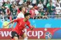 سون هونغ-مين يسجل أول هدف للمنتخب الكوري