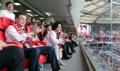 文在寅夫妇观看世界杯韩墨战