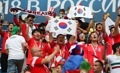 South Korean 'Red Devil' football fans in Russia