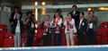 Moon, first lady Kim applaud S. Korean soccer team