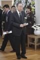 Former U.N. Secretary Gen. Ban visits late PM Kim