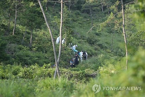 강진서 실종된 여학생 시신 수습 [연합뉴스 자료사진]