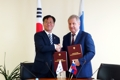 Korea-Russia patent chiefs
