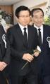Ex-Premier Hwang Kyo-ahn at Kim Jong-pil's funeral