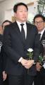 SK Group chairman Chey at Kim Jong-pil's funeral