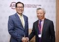 Vice Finance Minister Ko with AIIB president