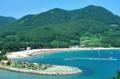 Eunmorae Beach on Namhae Island