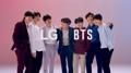 BTS with LG G7 smartphones