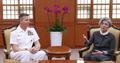 La canciller surcoreana y el jefe del Comando Indo-Pacífico