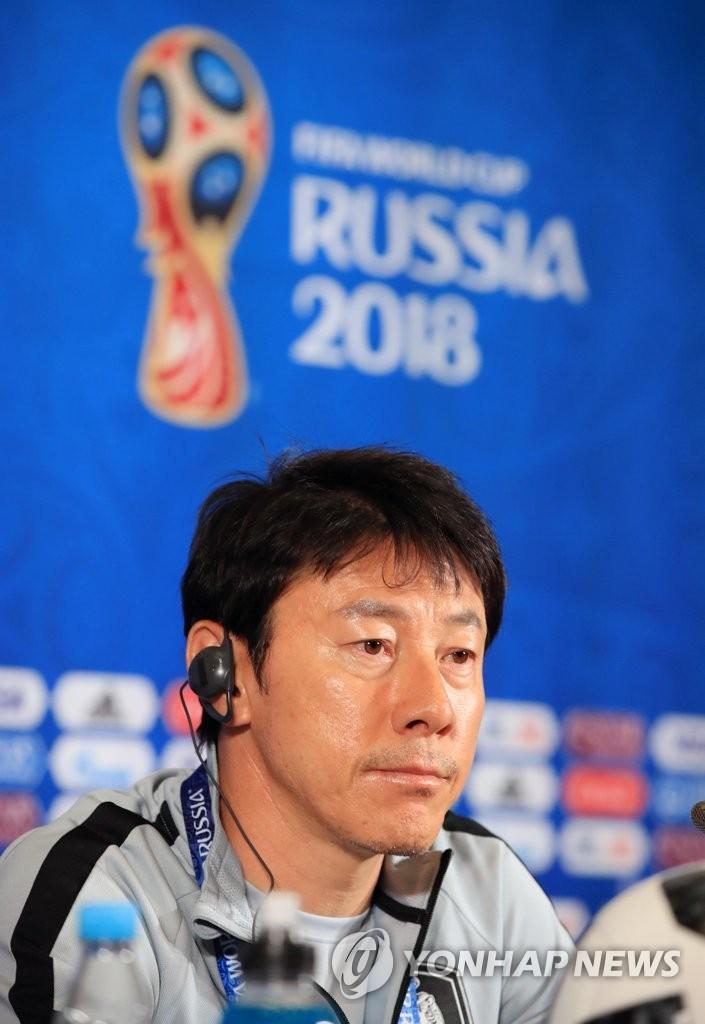 [월드컵] 질문 듣는 신태용 감독