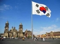S. Korean national flag in Mexico City