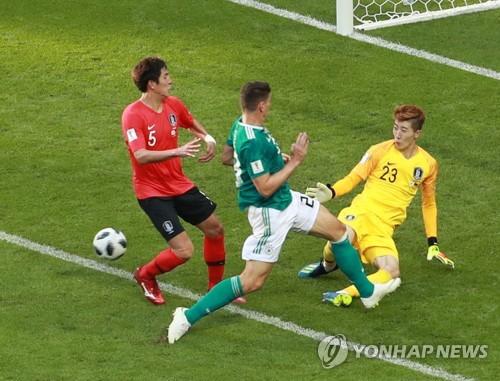 """[월드컵] 독일전 MOM 조현우 """"다른 선수가 나왔어도 잘 막았을 것"""""""