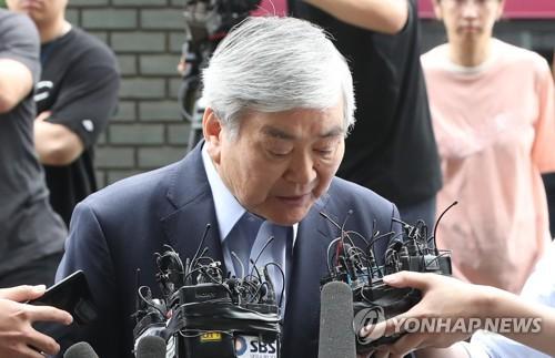 횡령 등 혐의 조양호 회장, 오늘 검찰 출석…석 달 만에 재소환
