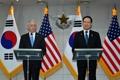 Conferencia de prensa conjunta de Seúl y Washington