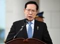 韩防长庆祝驻韩美军司令部新楼开馆