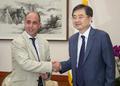 Avec le rapporteur onusien sur les droits de l'Homme