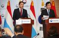 Conférence de presse Corée-Luxembourg