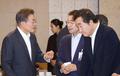 El presidente y el alcalde de Seúl