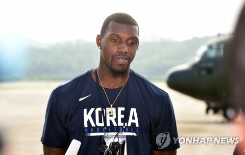 남북 통일농구 방북 당시 라틀리프