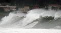 Tifón acercándose a Jeju