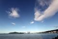 Cielo despejado tras el tifón