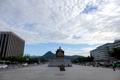 台風一過のソウル