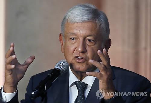 멕시코 대통령 당선인 긴축재정 올인…대통령 월급 60% 삭감
