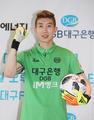 S. Korean goalkeeper holds press conference