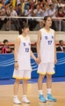 Partido amistoso de baloncesto intercoreano