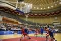 Basketteurs des deux Corées