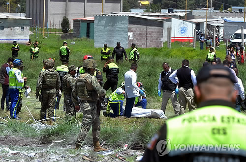 툭하면 터지는 멕시코 폭죽 폭발사고…19명 사망·40명 부상(종합)